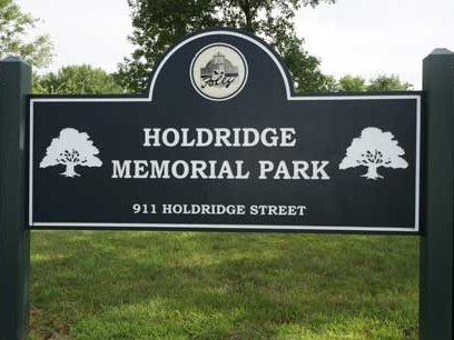 Holdridge Park Sign