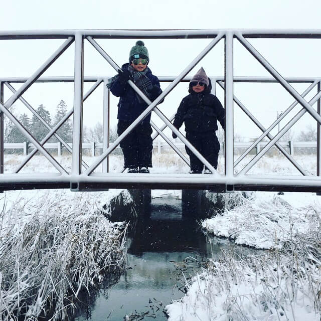Walz Children on Bridge – 2016